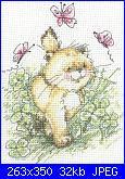 Gatti e Gattini-butterfly-clover-jpg