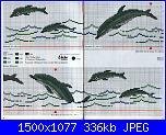 Delfini-asciugamani-con-delfini-schemi-punto-croce-2-jpg