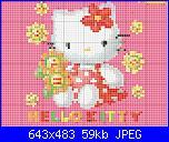 Schemi Hello Kitty-hello-con-flores-jpg