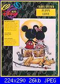 Disney Mickey Mouse and Minnie Mouse  DS13-puppy-love-jpg