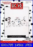 Counted Cross Stitch Kit - Disney's 101 Dalmatians-playful-pups-31001-jpg