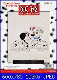 Counted Cross Stitch Kit - Disney's 101 Dalmatians-puppy-talk-31002-jpg