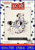 Counted Cross Stitch Kit - Disney's 101 Dalmatians-31005-puppies-mirror-jpg