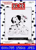 Counted Cross Stitch Kit - Disney's 101 Dalmatians-31006-puppy-love-jpg