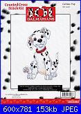 Counted Cross Stitch Kit - Disney's 101 Dalmatians-curious-pup-31008-jpg