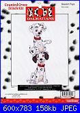 Counted Cross Stitch Kit - Disney's 101 Dalmatians-booster-pups-31009-jpg