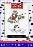 Counted Cross Stitch Kit - Disney's 101 Dalmatians-pup-cardinals-31014-jpg