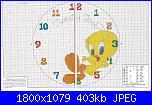 sveglie/orologi Disney-tweety-time-jpg