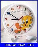 sveglie/orologi Disney-tweety-time-orologio-pic-jpg