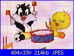 Looney Tunes: Titti / Tweety, Gatto Silvestro-baby_looney33-jpg