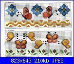 Piccoli bordi con fiori e farfalle-img818-jpg