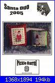 Babbo Natale-pickle-barrel-santa-duo-2005-jpg