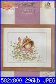 Lanarte 34919 - Little Girl in a Field of Flowers-lanarte-34919-jpg