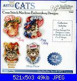 Vermillion Stitchery-antique-cats-de-vermillion-jpg