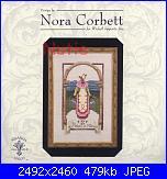 Mirabilia -  Nora Corbett - 12 Days of Christmas Series-nc148-eight-maids-milking-jpg