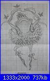 Design works- 2757 - Frog Dancer Ballet Flowers-dw-2757-1-jpg