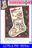 Dimensions 08621 Merry kittens stocking-8621-merry-kittens-stocking-jpg