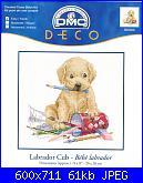 Dmc BK889 - Labrador Cub - Bebè Labrador-dmc-bk889-labrador-cub-jpg