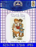 DMC BL224 61 - Sarah Kay - Reading with Kitty-dmc-bl224-61-sarah-kay-reading-kitty-jpg