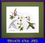 Sue Coleman - CS 343 - Dogwood & Hummingbird-sue-coleman-cs-343-dogwood-hummingbird-jpg