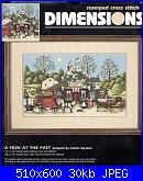 Dimension 3162 - A Peek at The Past by Charles Wysocki-dimension-3162-peek-past-charles-wysocki-jpg