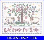 Imaginating 2513 - Ewe make me Smile - Gail Bussi - 2008-imaginating-2513-ewe-make-me-smile-jpg