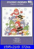 Imaginating 2560 - Stacking Snowmen - Ursula Michael - 2008-imaginating-2560-stacking-snowmen-jpg