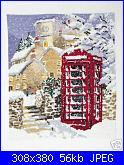 DMC K3225 - Winter Telephone Box-dmc-k3225-winter-telephone-box-jpg