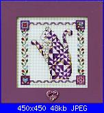 Mill Hill - MH JS 14-8403 Quilted Cats Petunia-mh-js14-8403-petunia-quilted-cat-jpg