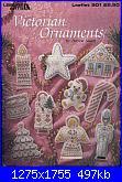 Leisure Arts Leaflet 901 - Victorian Ornaments - Patricia Nasers - 1990-la-901-jpg