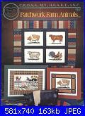 Cross My Heart - CSB 153 - Patchwork Farm Animals - 1997-cross-my-heart-csb-153-patchwork-farm-animals-1997-jpg
