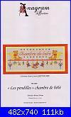 Anagram diffusion - A987 - Les pendilles chambre de bèbe - Jean-Louise Grandsire-anagram-diffusione-a987-les-pendilles-chambre-de-b-jean-louise-grandsire-jpg