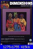 Dimensions 35092 - Three Yoruban Women by Wild Art Group-dimensions-35092-three-yoruban-women-wild-art-group-jpg