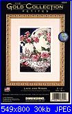 Dimensions 6929 - Lance and Roses - The Gold Collection-dimensions-6929-lance-roses-gold-collection-jpg