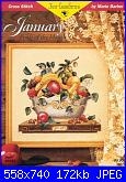 """Just Cross Stitch - Serie """"Fruit of the Month"""" -  Marie Barber-just-cross-stitch-2143-january-marie-barber-jpg"""