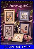 Cross My Heart - CSB 82 Hummingbirds - Melinda 1992-csb-82-jpg