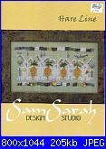 SamSarah Design Studio 8958 - Hare Line - 2005-samsarah-design-studio-8958-hare-line-2005-jpg
