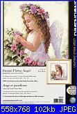 Dimensions - 35229 - Passion Flower Angel-dim-35229-passion-flower-angel-jpg
