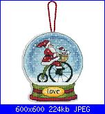 Dimensions 70-08903 - Love Snow Globe Ornament-dimensions-70-08903-love-snow-globe-ornament-jpg