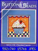 Mill Hill - MH14-1106 - Chocolate Cupcake-mill-hill-mh14-1106-chocolate-cupcake-jpg