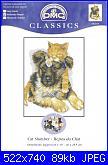 DMC - Best friends K5418 - Cat Slumber-dmc-best-friends-k5418-cat-slumber-jpg