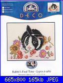 DMC - Best friends BL091-55 -Rabbit's Feed Time-dmc-best-friends-bl091-55-rabbits-feed-time-jpg