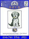 DMC - Best friends BL086-55 -Old English Sheep Dog Puppy-dmc-best-friends-bl086-55-old-english-sheep-dog-puppy-jpg