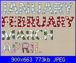Esther Leavitt - Months of the year-esther-leavitt-months-year-1-jpg