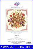 Needlepoise - Floral Quartet - Autumn-needlepoise-floral-quartet-autumn-jpg