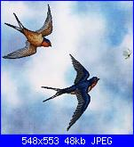 Crossed Wing Collection  55 Barn Swallows - 2007-crossed-wing-collection-55-barn-swallows-2007-jpg