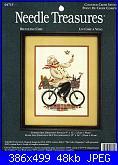 Needle Treasures 04715 - Bicycling Chef-needle-treasures-04715-bicycling-chef-jpg