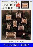 The Prairie Schooler 71 - Two by Two-prairie-schooler-71-two-two-jpg