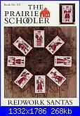 The Prairie Schooler 102 - Redwork Santas-prairie-schooler-102-redwork-santas-jpg