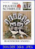 The Prairie Schooler 103 - Blackwork angels-prairie-schooler-103-blackwork-angels-jpg